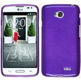 Silicone Case for LG L70 brushed purple