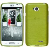 Silicone Case for LG L70 brushed pastel green