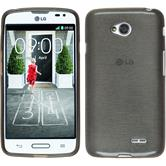 Silicone Case for LG L70 brushed silver