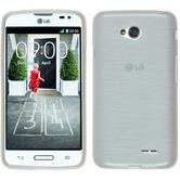 Silicone Case for LG L70 brushed white