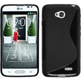 Silicone Case for LG L70 S-Style black