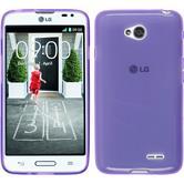 Silicone Case for LG L70 transparent purple