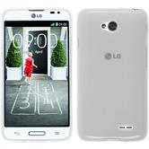 Silicone Case for LG L70 transparent white