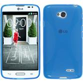 Silicone Case for LG L70 X-Style blue