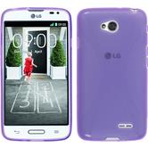 Silicone Case for LG L70 X-Style purple