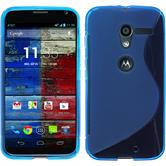 Silicone Case for Motorola Moto X S-Style blue