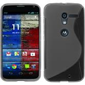 Silicone Case for Motorola Moto X S-Style gray