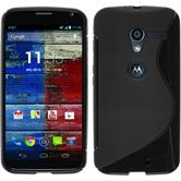 Silicone Case for Motorola Moto X S-Style black