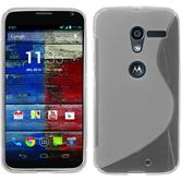 Silicone Case for Motorola Moto X S-Style transparent