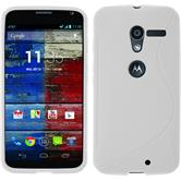 Silicone Case for Motorola Moto X S-Style white