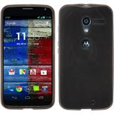 Silicone Case for Motorola Moto X transparent black