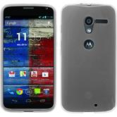 Silicone Case for Motorola Moto X transparent white