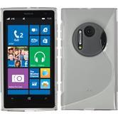 Silikon Hülle Lumia 1020 S-Style grau