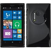 Silikon Hülle Lumia 1020 S-Style schwarz
