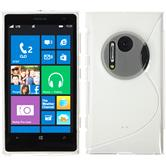 Silicone Case for Nokia Lumia 1020 S-Style transparent