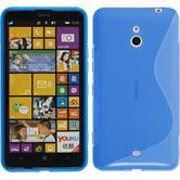 Silikon Hülle Lumia 1320 S-Style blau