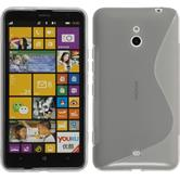 Silicone Case for Nokia Lumia 1320 S-Style gray