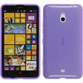 Silicone Case for Nokia Lumia 1320 transparent purple