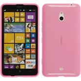 Silicone Case for Nokia Lumia 1320 transparent pink