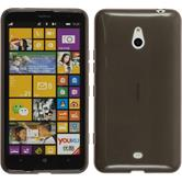 Silicone Case for Nokia Lumia 1320 transparent black