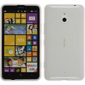 Silicone Case for Nokia Lumia 1320 transparent white