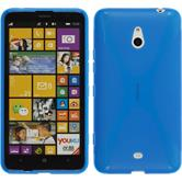 Silicone Case for Nokia Lumia 1320 X-Style blue