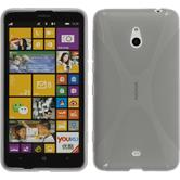 Silicone Case for Nokia Lumia 1320 X-Style gray