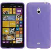 Silicone Case for Nokia Lumia 1320 X-Style purple