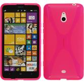 Silicone Case for Nokia Lumia 1320 X-Style hot pink