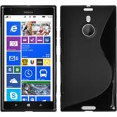 Silikonhülle für Nokia Lumia 1520 S-Style schwarz