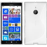Silicone Case for Nokia Lumia 1520 S-Style transparent