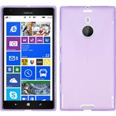 Silicone Case for Nokia Lumia 1520 X-Style purple