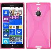 Silicone Case for Nokia Lumia 1520 X-Style hot pink