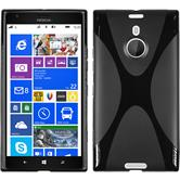 Silicone Case for Nokia Lumia 1520 X-Style black