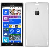 Silicone Case for Nokia Lumia 1520 X-Style white