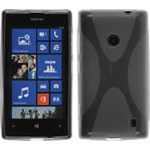 Silicone Case for Nokia Lumia 525 X-Style gray