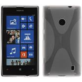 Silicone Case for Nokia Lumia 525 X-Style transparent