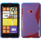 Silicone Case for Nokia Lumia 625 S-Style blue