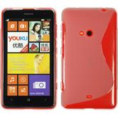 Silicone Case for Nokia Lumia 625 S-Style gray