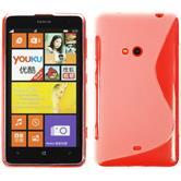 Silikonhülle für Nokia Lumia 625 S-Style clear