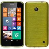 Silicone Case for Nokia Lumia 630 brushed pastel green