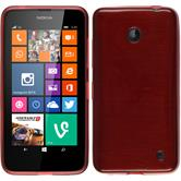 Silikon Hülle Lumia 630 brushed rot
