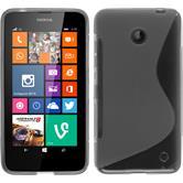 Silicone Case for Nokia Lumia 630 S-Style gray