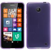 Silicone Case for Nokia Lumia 630 transparent purple