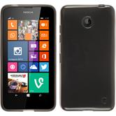 Silicone Case for Nokia Lumia 630 transparent black