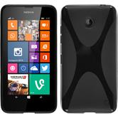 Silicone Case for Nokia Lumia 630 X-Style black