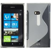 Silicone Case for Nokia Lumia 900 S-Style transparent