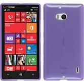 Silicone Case for Nokia Lumia 930 transparent purple