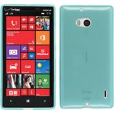 Silicone Case for Nokia Lumia 930 transparent turquoise