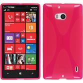 Silicone Case for Nokia Lumia 930 X-Style hot pink